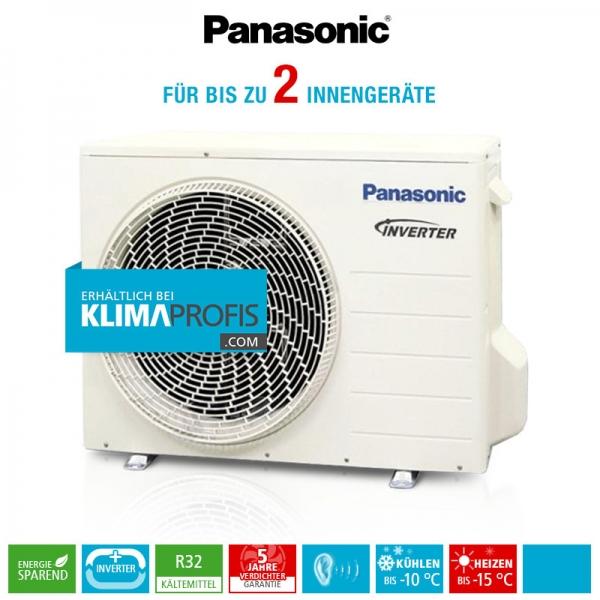 Panasonic CU-2TZ50TBE R32 Multi-Split Inverter Plus Außengerät - 5,4 kW