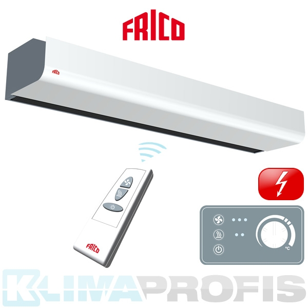 Luftschleier Frico Thermozone PA2220CE10, 2050 mm, 10 kW, mit Elektroheizung
