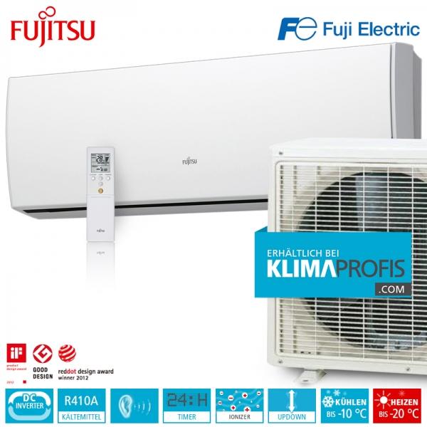 Fujitsu ASYG12LUCA Inverter Design Wandklimageräte Set - 4 kW