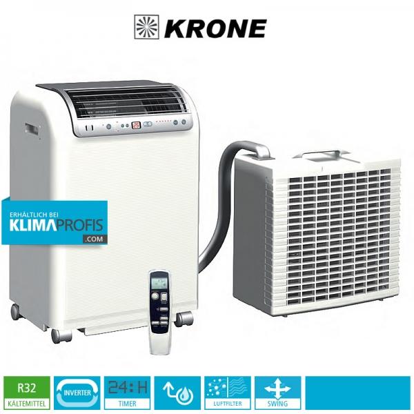 Krone RKL 495 R32 DC Inverter- Mobiles Inverter-Raumklimagerät in Splitausführung 4,6 kW