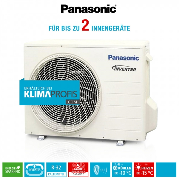 Panasonic CU-2Z41TBE R32 Multi-Split Inverter Plus Außengerät - 5,2 kW