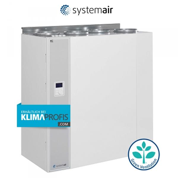 Lüftungsgerät VR 400 DCV/DE mit Wärmerückgewinnung für bis zu 200qm Wohnfläche