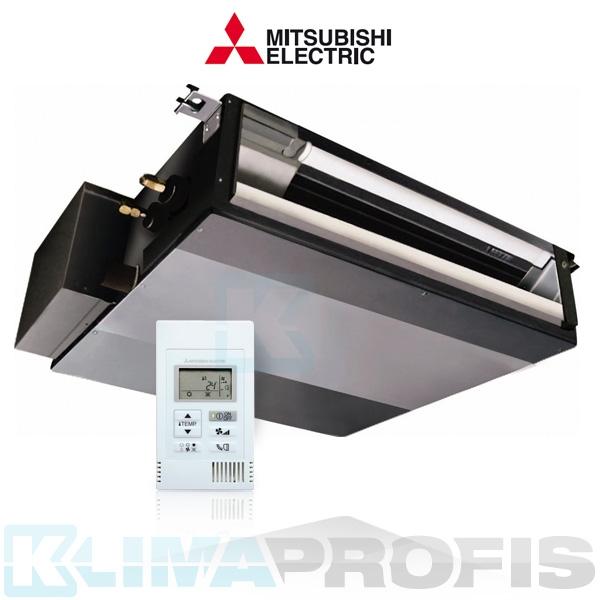 Mitsubishi SEZ-KD71VAQ Multi Split Inverter Kanaleinbauklimagerät - 8,3 kW inkl. Kabelfernbedienung